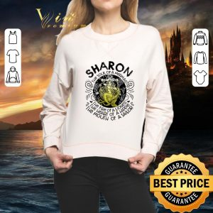 Funny Sharon the soul of a mermaid the fire of a lioness hippie sailor shirt