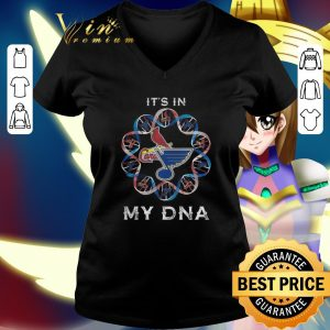 Funny St. Louis Cardinals It's in my DNA St. Louis Blues shirt 1