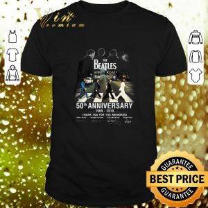 Funny The Beatles Abbey Road 50th Anniversary 1969-2019 Signatures shirt