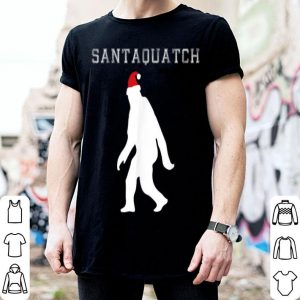 Hot Santaquatch - Funny Santa Apparel Christmas Gift and Costume sweater