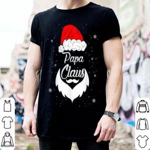 Nice Funny Christmas Papa Santa Hat Matching Family Xmas Gifts shirt