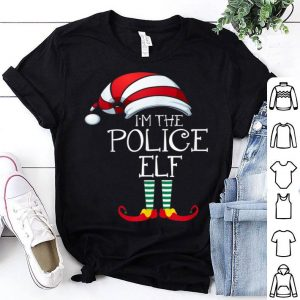 Nice I'm The Police Elf Family Matching Christmas Gift Group shirt