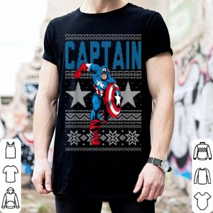 Nice Marvel Captain America Stars Ugly Christmas Sweater shirt