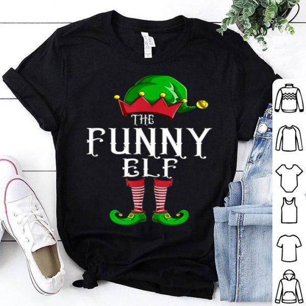 Nice The Funny Elf Group Matching Family Christmas Gift Holiday shirt