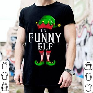 Nice The Funny Elf Group Matching Family Christmas Gift Holiday shirt