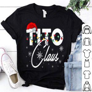 Nice Tito Santa Claus Hat Matching Christmas Gift shirt
