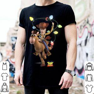 Official Disney Pixar Toy Story Woody Bullseye X-Mas Light shirt