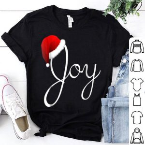 Official Joy Christmas - Santa Hat Christmas Joy shirt
