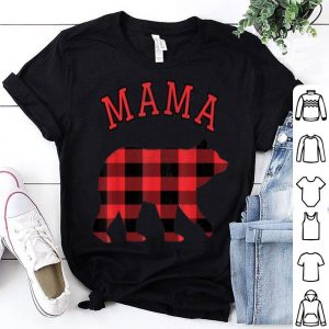 Official Mama Bear Matching Family Christmas Pajamas Men Women Gift shirt