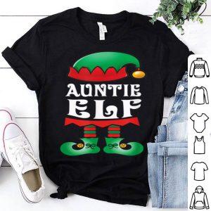Original Auntie Elf Matching Family Christmas Pajamas Elves shirt
