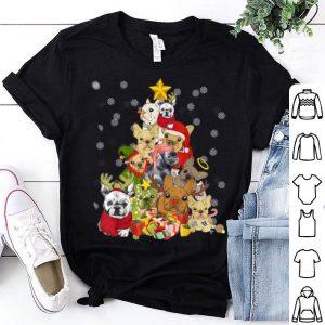 Original Frenchie Christmas Tree Funny Dog Christmas Pajamas Gift shirt
