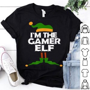 Original I'm the Gamer Elf Christmas Costume Gift shirt