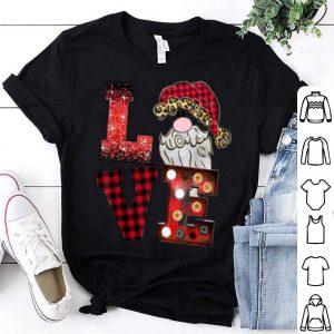 Original Love Christmas Santa Claus Leopard fashion woman tee shirt