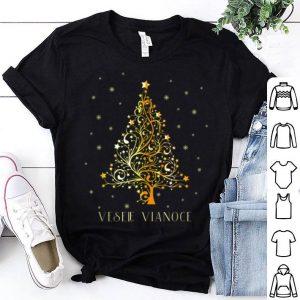 Original Slovak Christmas Tree Slovakia Decoration Ornament Star Xmas shirt