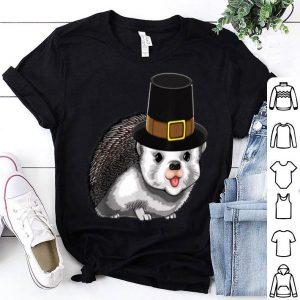 Original Thanksgiving Pilgrim Hedgehog Holiday Tradition Gratitude shirt
