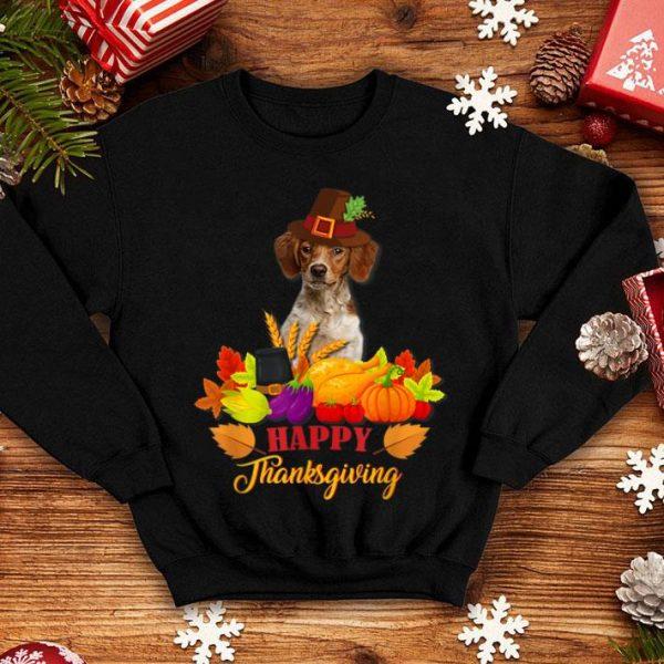 Premium Brittany Happy Thanksgiving Dog Lover shirt