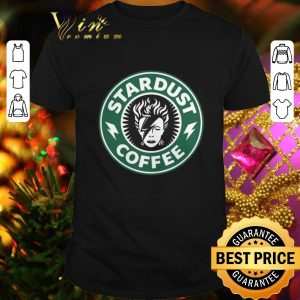 Premium David Bowie Stardust coffee Starbucks shirt
