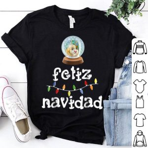 Premium Feliz Navidad Christmas Guinea Pig Spanish Gift shirt
