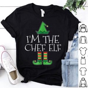 Premium I'm The Chef Elf Matching Family Group Christmas shirt