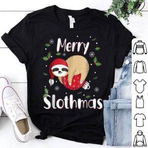 Premium Merry Slothmas Christmas Pajama For Sloth Lovers Gift shirt