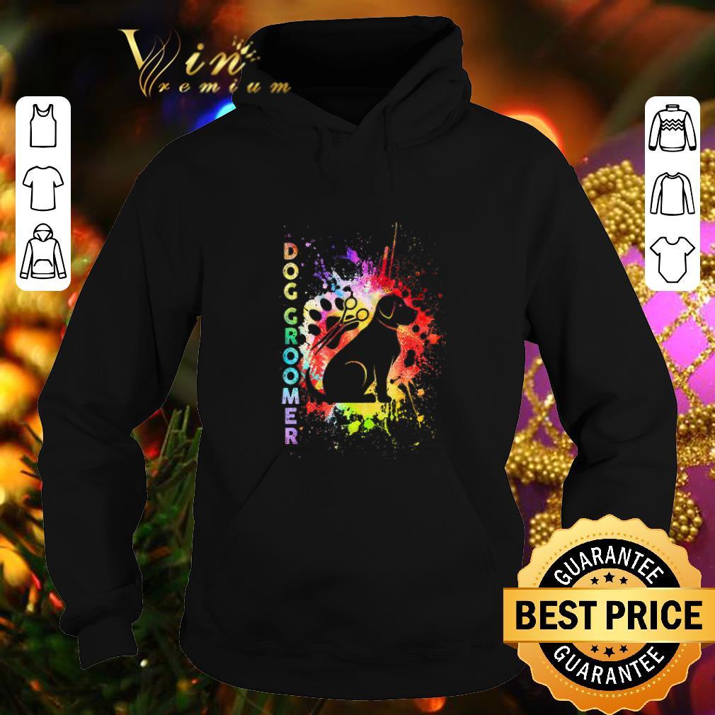 Premium Proud Dog Groomer Color shirt 4 - Premium Proud Dog Groomer Color shirt