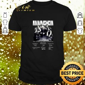 Premium Ramstein The Ultimate 25 Years Celebration 1994-2019 Signatures shirt