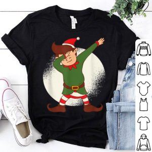 Pretty Elf Dab Dance Funny Christmas Dabbing Elf Xmas Gift shirt