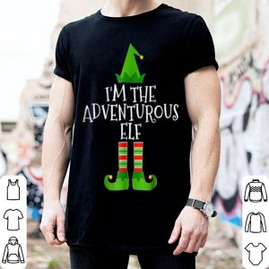 Pretty I'm The Adventurous Elf Matching Family Christmas sweater