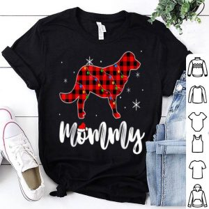 Pretty Mommy Golden Retriever Dog Matching Family Pajama Christmas shirt