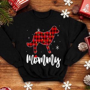Pretty Mommy Golden Retriever Dog Matching Family Pajama Christmas shirt
