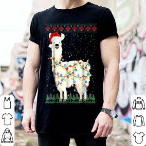 Pretty Sloth Santa Ugly Christmas Xmas Knit shirt