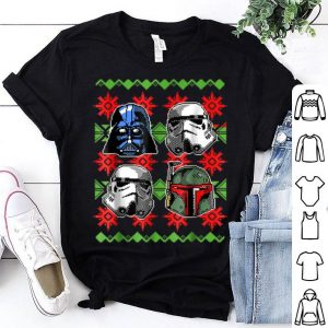 Pretty Star Wars Ugly Christmas Sweater Empire Helmets sweater
