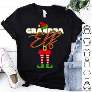 Top Grandpa Elf Papa Christmas Matching Elves Family Group shirt