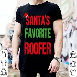 Top Roofer Funny Pajama Christmas Gift shirt