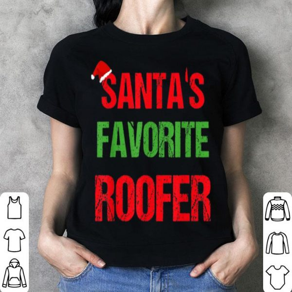 Top Roofer Funny Pajama Christmas Gift shirt