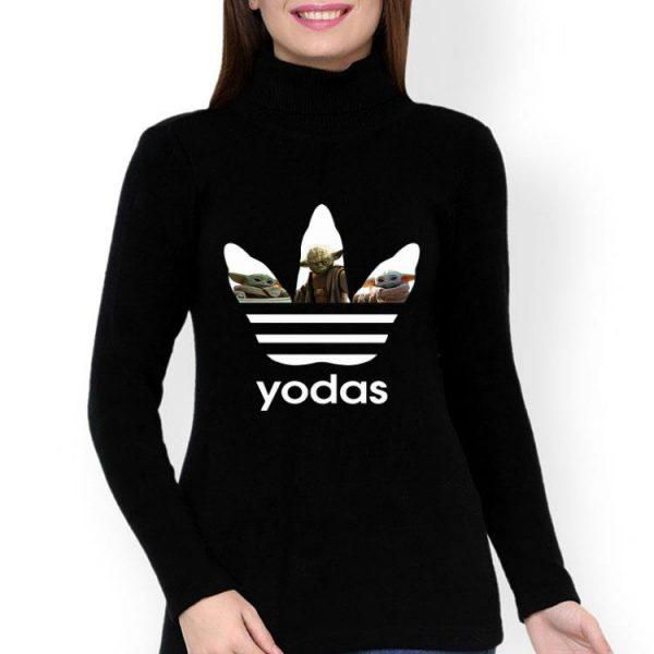 Adidas Master Yoda And Baby Yoda shirt