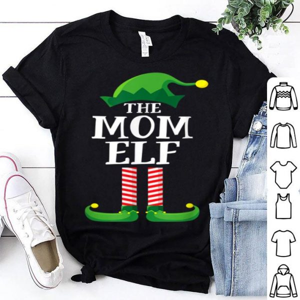 Awesome Mom Elf Matching Family Group Christmas Party Pajama sweater
