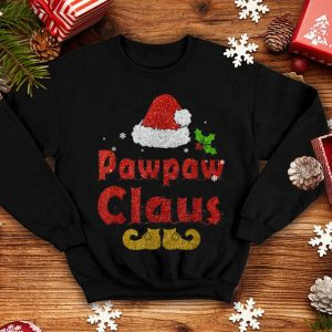 Awesome Pawpaw Claus Matching Family Group Christmas sweater