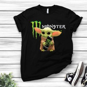 Baby Yoda Hug Monster Energy shirt