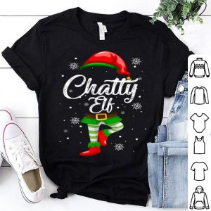 Chatty Elf Funny Christmas Costume Pajamas Elves Gift sweater