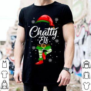 Chatty Elf Funny Christmas Costume Pajamas Elves Gift sweater