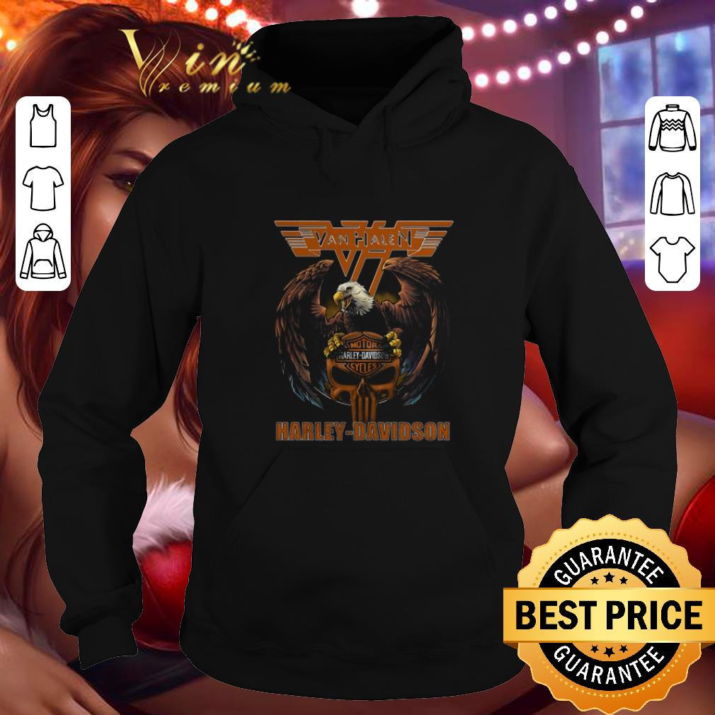 Cheap Eagle Van Halen Harley Davidson shirt 4 - Cheap Eagle Van Halen Harley Davidson shirt