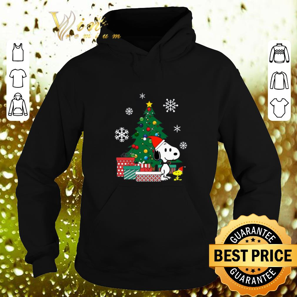 Cheap Snoopy and Woodstock Christmas tree shirt 4 - Cheap Snoopy and Woodstock Christmas tree shirt