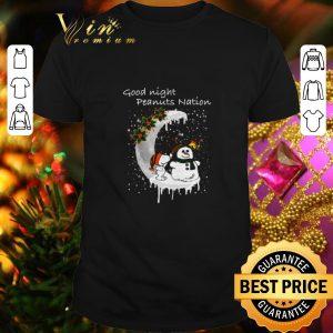 Cheap Snoopy good night Peanuts nation Christmas shirt