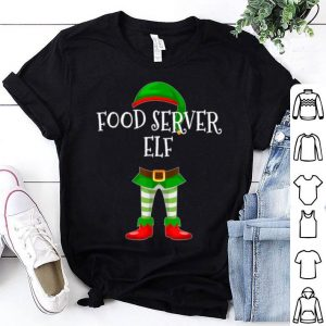 Food Server Elf Matching Family Christmas Gift sweater