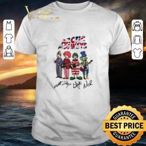 Funny Clown Arctic Monkeys signatures shirt