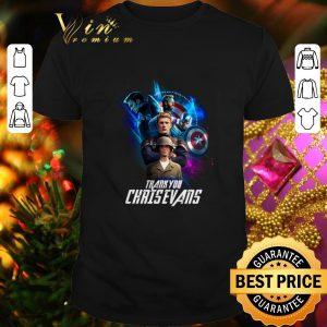 Funny Marvel Avengers Endgame Thank you Chris Evans shirt