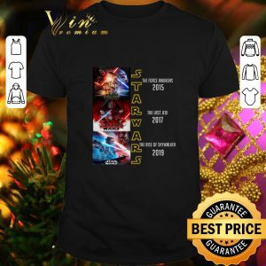 Funny Star Wars The Force Awakens The Last Jedi The Rise Of Skywalker shirt