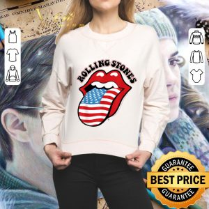 Funny The Rolling Stones American USA Flag shirt