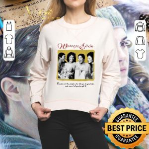 Funny Whitney Houston waiting to exhale friends are the people who let shirt